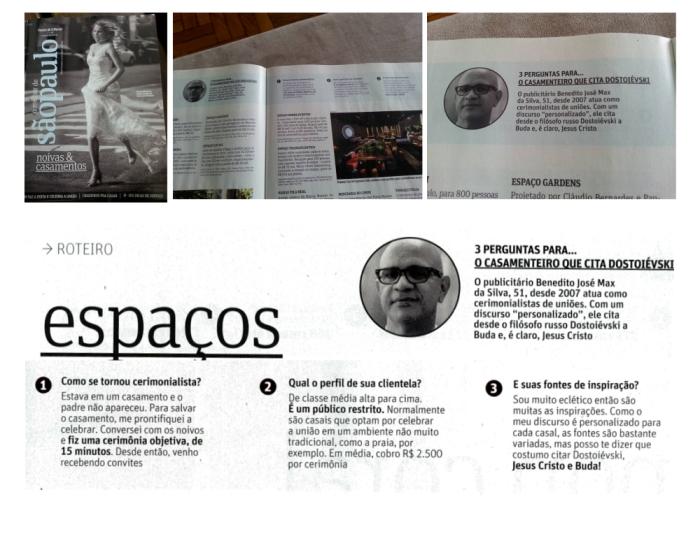 Entrevista Revista da Follha 02/2016